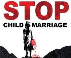 Government urged to pass law on child marriages