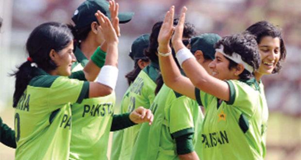 Setting of women's sport in motion