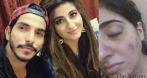 Actor Mohsin Abbas Haider's wife accuses him of abuse and cheating