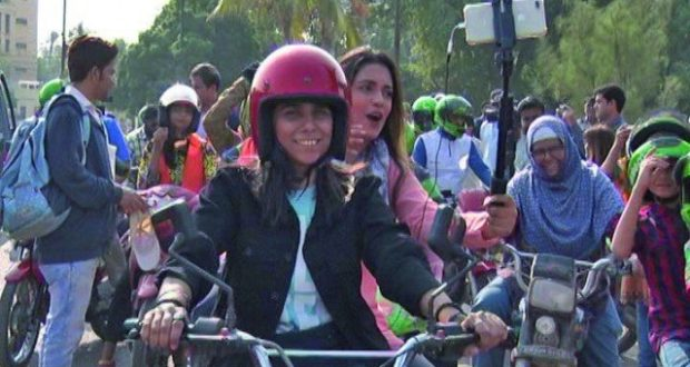 'Women on Wheels' kick-starts in Karachi