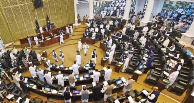 KP Assembly amends law against women's harassment at work