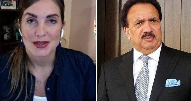 Rehman Malik moves SC against IHC order in Cynthia case
