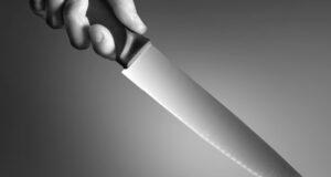 Man 'slits wife's throat'