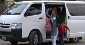 Girl students barred from sitting in front seat of school vans