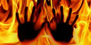 Man remanded for burning wife to death