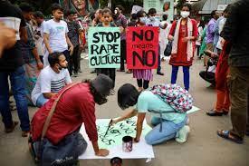 Woman sets up protest camp, demands arrest of rapists